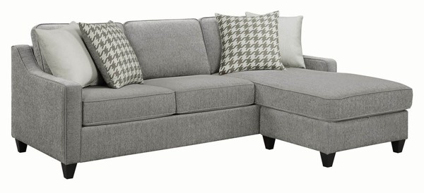 Coaster Furniture Montgomery Charcoal Sectional CST-501697