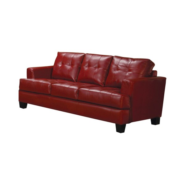 Coaster Furniture Samuel Red Sofa CST-501831