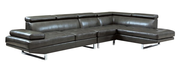 Coaster Furniture Piper Charcoal Sectional CST-503029