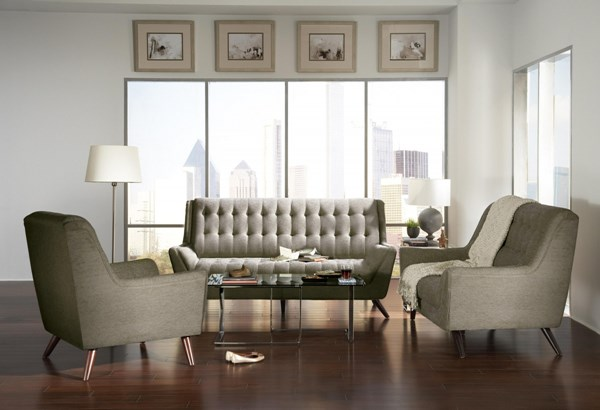 Natalia Contemporary Fabric Living Room Set CST-503771-74-LR
