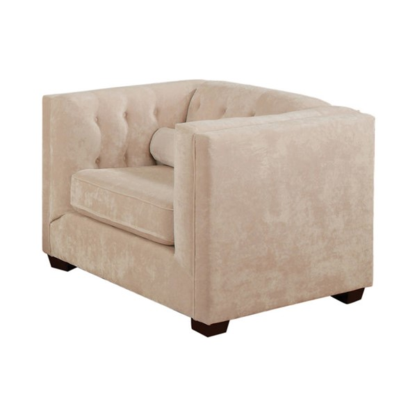 Coaster Furniture Alexis Almond Fabric Chair CST-504393