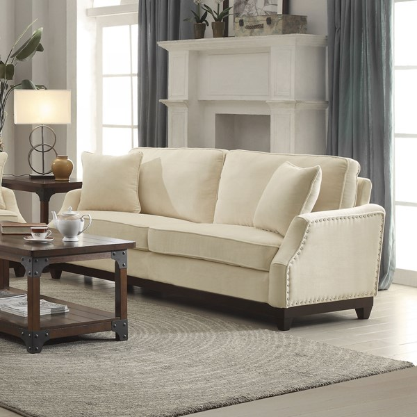 Acklin Traditional Ultra Plush Velvet Sofas CST-5047-SF-VAR