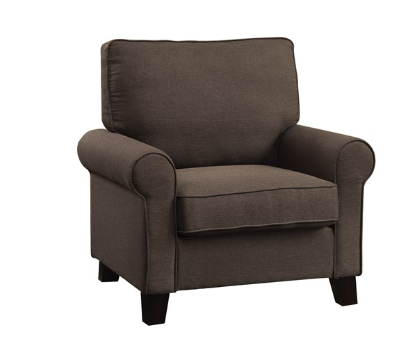 Noella Casual Chocolate Fabric Wood Chair CST-504793