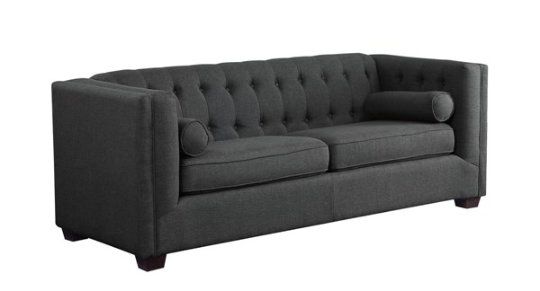 Coaster Furniture Cairns Charcoal Sofa CST-504901