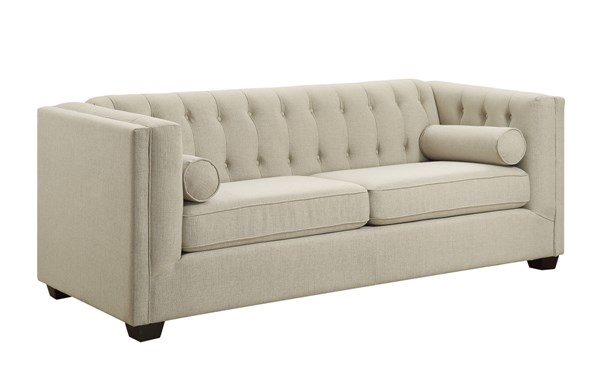 Coaster Furniture Cairns Oatmeal Sofa CST-504904