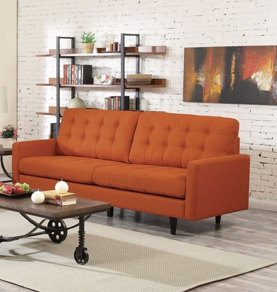 Coaster Furniture Kesson Orange Sofa CST-505371