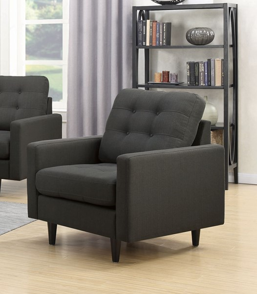 Coaster Furniture Kesson Charcoal Chair CST-505376