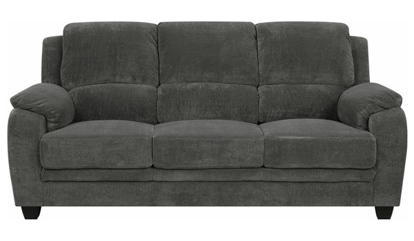 Coaster Furniture Northend Charcoal Sofa CST-506241