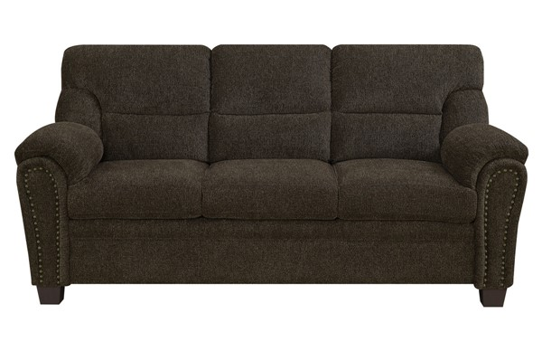 Coaster Furniture Clemintine Brown Sofa CST-506571