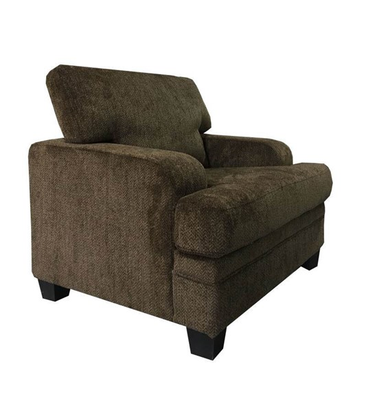 Coaster Furniture Griffin Brown Chenille Chair CST-508383
