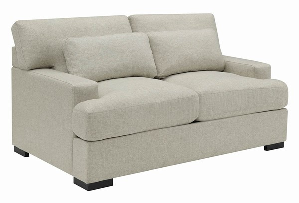 Coaster Furniture Becca Beige Fabric Loveseat CST-508422