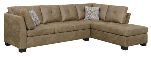 Coaster Furniture Darie Golden Brown Sectional CST-508528