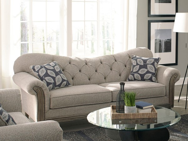 Coaster Furniture Gilomore Grey Upholstered Tufted Sofa CST-508541