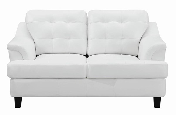 Coaster Furniture Freeport Snow White Loveseat CST-508635