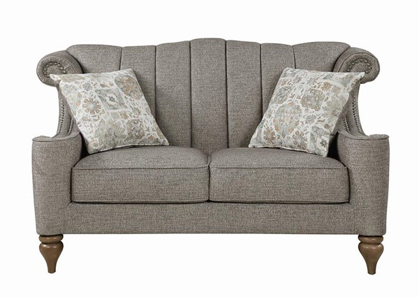 Coaster Furniture Lakeland Brown Loveseat CST-508722