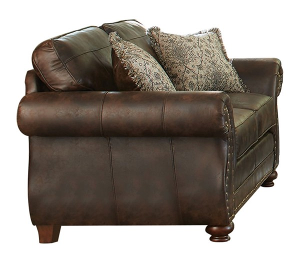 Coaster Furniture Graceville Dark Brown Loveseat CST-508892