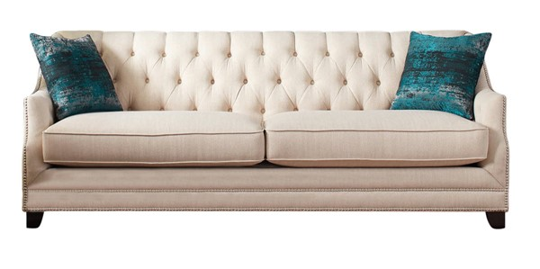Coaster Furniture Artemis Beige Sofa CST-508941