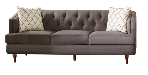 Coaster Furniture Shelby Grey Sofa CST-508951
