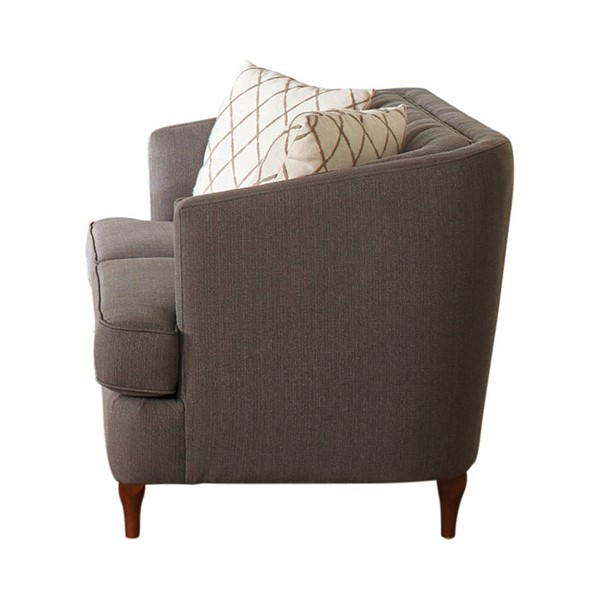 Coaster Furniture Shelby Grey Loveseat CST-508952