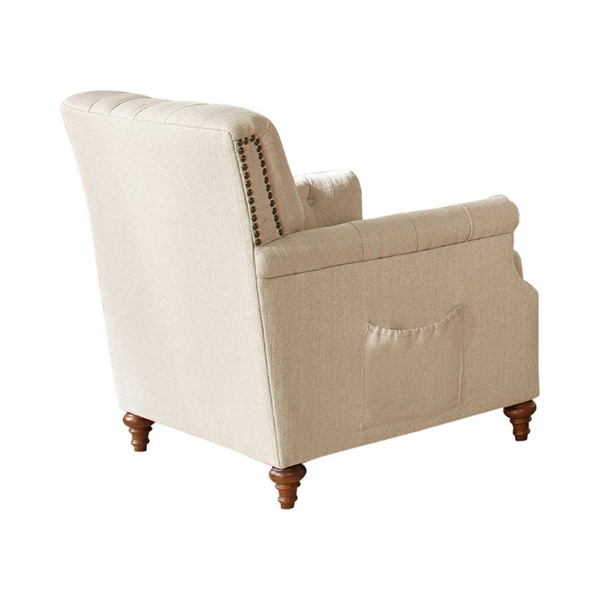 Coaster Furniture Shelby Beige Chair CST-508953