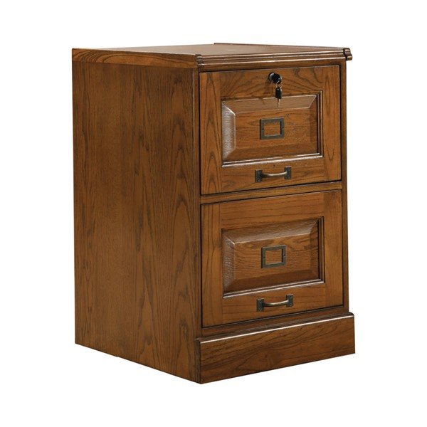 Coaster Furniture Warm Honey Two Drawers File Cabinet CST-5317N