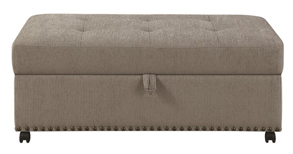 Coaster Furniture Grey Ottoman Sleeper CST-550338