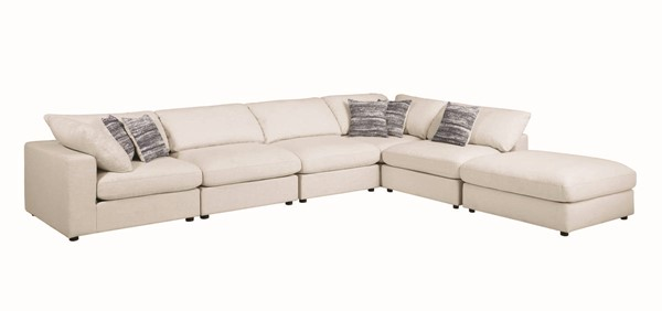 Coaster Furniture Serene 6pc Sectionals CST-55132-SEC-S-VAR