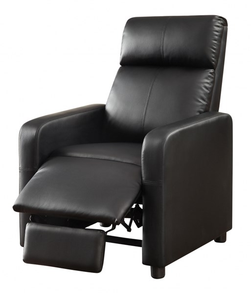 Toohey Contemporary Black Push Back Recliner CST-600181