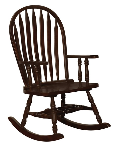 Coaster Furniture Cappuccino Wood Rocking Chair CST-600186