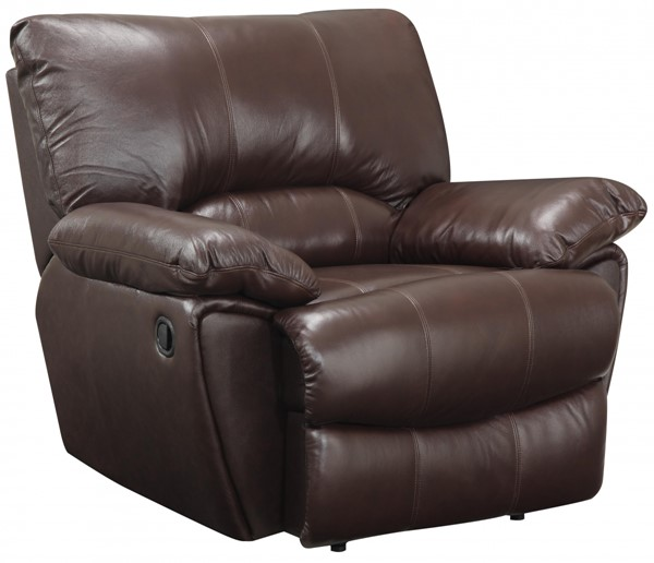 Clifford Transitional Dark Brown Leather Power Recliner CST-600283P