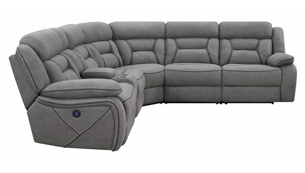 Coaster Furniture Camargue Grey Sectional CST-600370