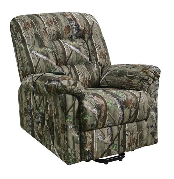 Coaster Furniture Camouflage Power Lift Recliner The