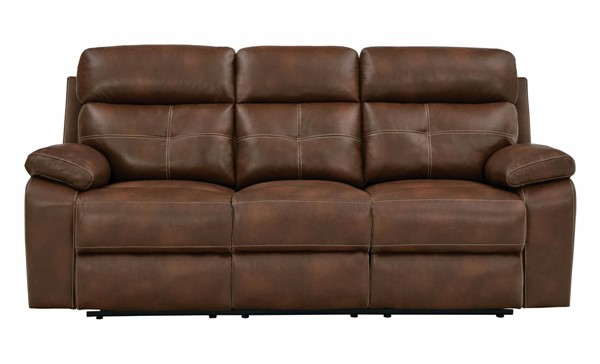Coaster Furniture Damiano Brown Motion Sofa CST-601691