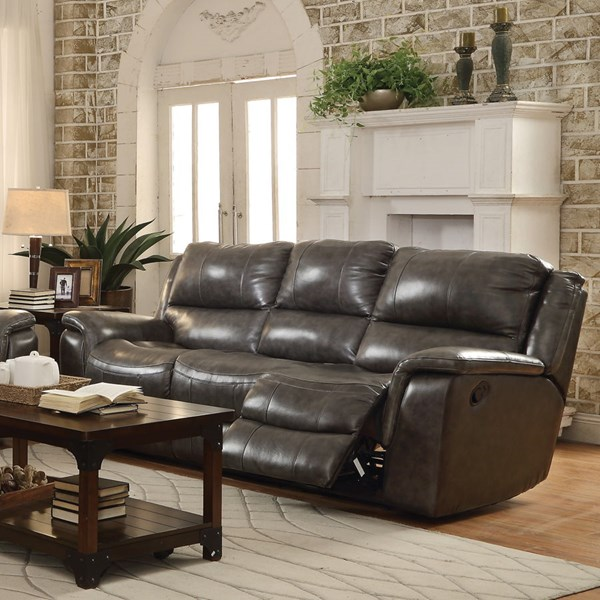 Wingfield Motion Charcoal Leather Match Sofas CST-601821-P-VAR