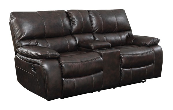Coaster Furniture Willemse Motion Loveseat with Console CST-601932