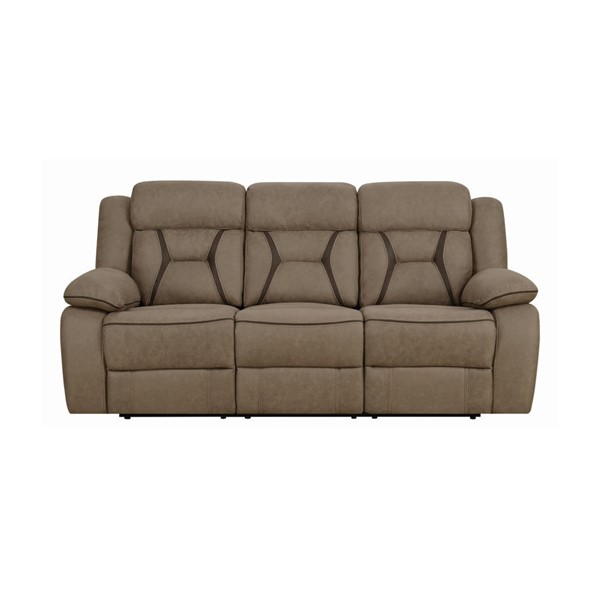 Coaster Furniture Houston Tan Motion Sofa CST-602264