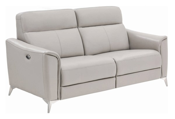 Coaster Furniture Alberta Light Grey Power Sofa CST-602494P