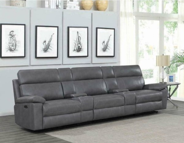 Coaster Furniture Albany Grey 5pc Power2 Home Theaters CST-60327PPT-SEC-VAR