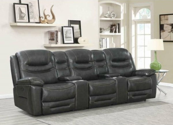 Coaster Furniture Destin Charcoal 5pc Power2 Home Theaters CST-60331PPT-SEC-VAR