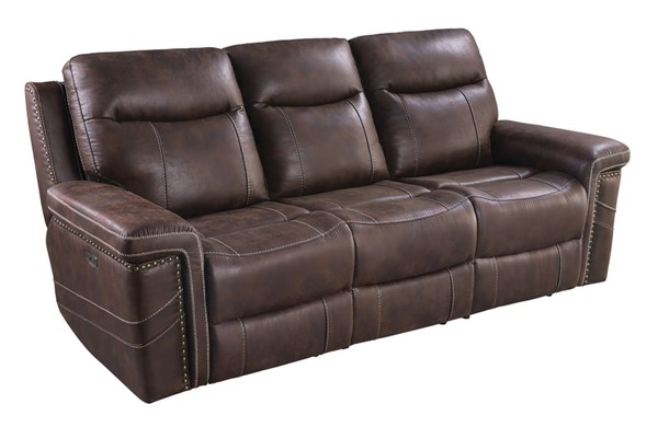 Coaster Furniture Wixom Brown Power2 Sofa CST-603511PP