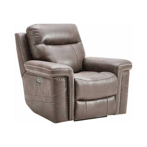 Coaster Furniture Wixom Taupe Power2 Glider Recliner CST-603519PP