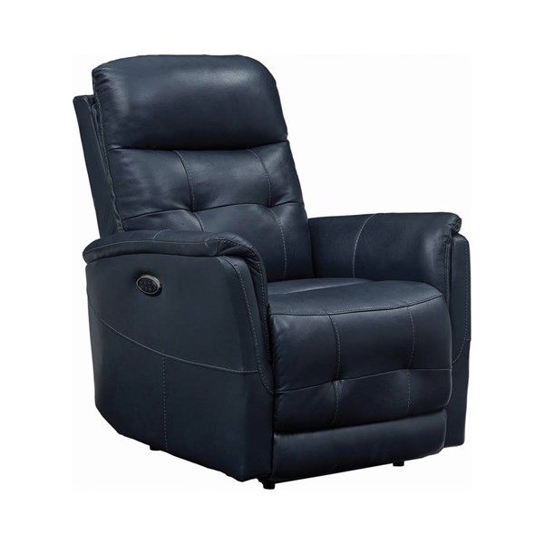 Coaster Furniture Blue Power3 Recliner CST-608953PPP