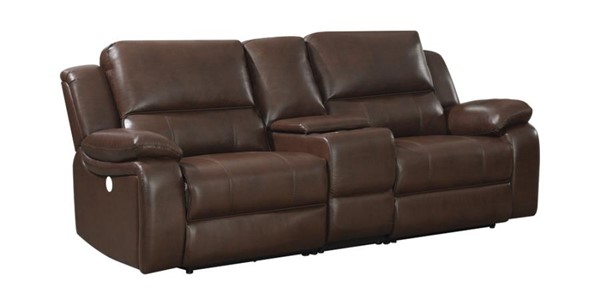 Coaster Furniture Channing Brown 3pc Power Loveseat CST-650182P