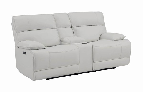 Coaster Furniture Stanford White Power2 Loveseat CST-650228PP