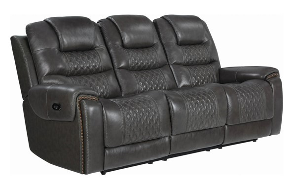 Coaster Furniture North Charcoal Power2 Sofa CST-650407PP