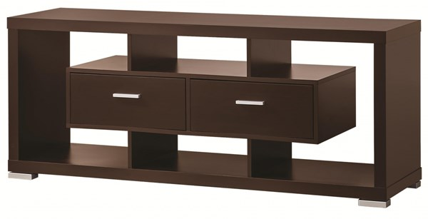 Coaster Furniture Wood TV Console with Drawers and Open Shelves CST-700112-13-VAR
