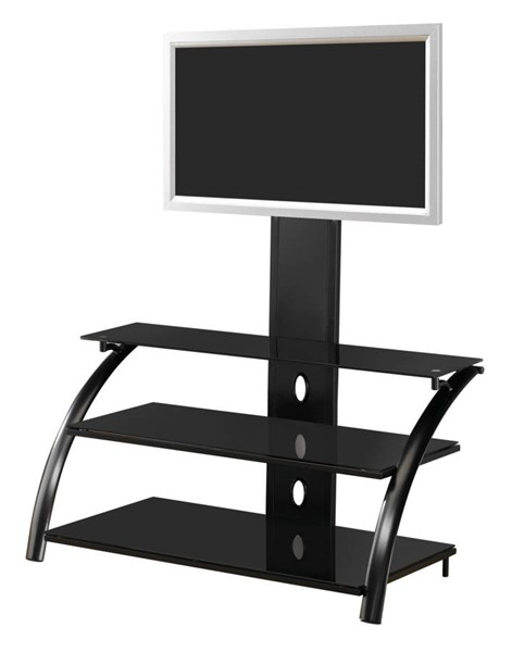 Coaster Furniture Black Metal TV Stand Armoire CST-700617