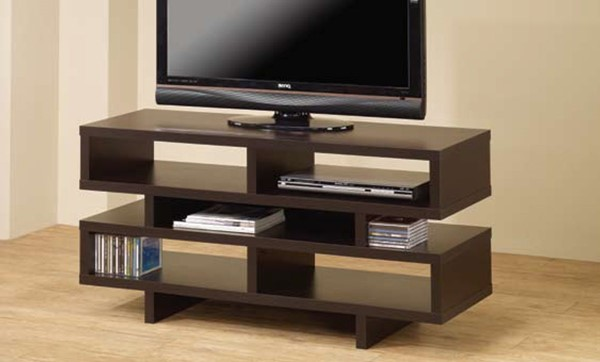 Cappuccino Wood Horizontal Chest TV Console CST-700720