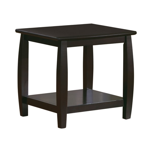 Coaster Furniture Espresso Wood End Table CST-701077