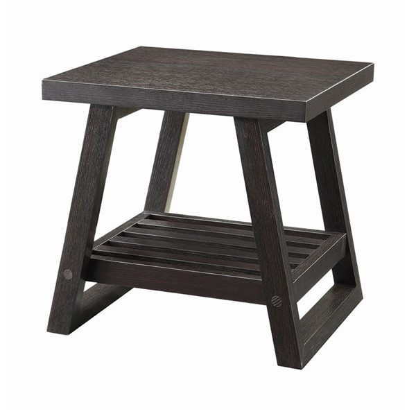 Coaster Furniture Cappuccino End Table CST-701867